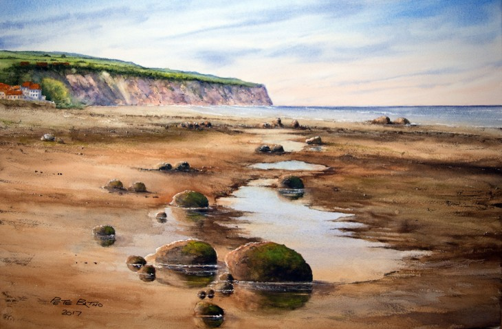 Robin Hood's Bay - After Geoff Kersey