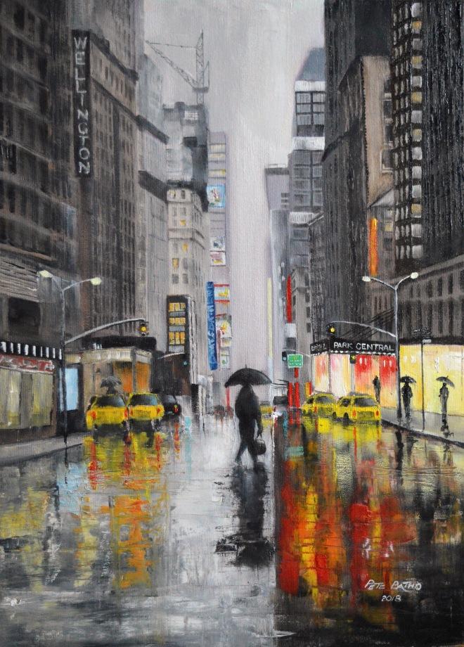 rainy day in nyc