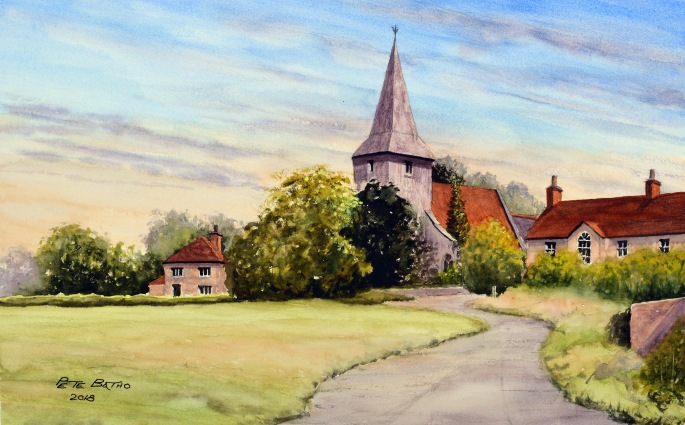 Bosham - Chichester, Sussex - After Geoff Kersey