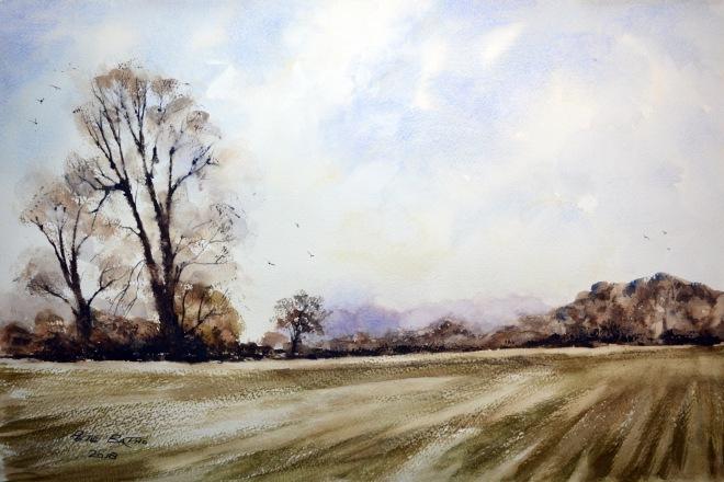 winter in the wylye valley