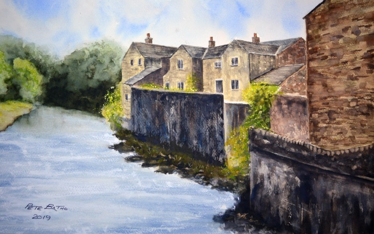 Grassington. Watercolour on Fabriano Artistico NOT paper. 140lb 1/2 imperial.